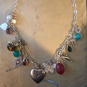 Charm necklace from Anthropologie